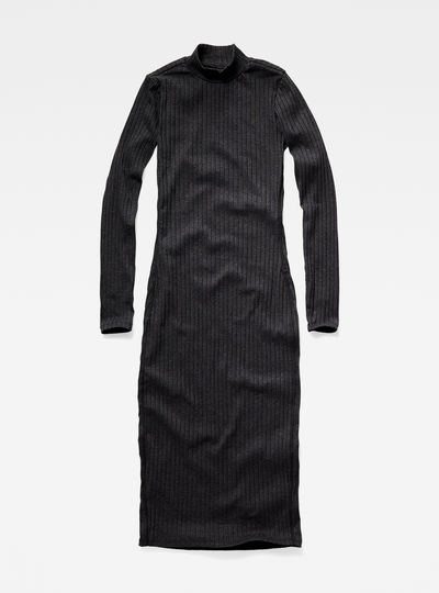 Xinva Slim Funnel Dress