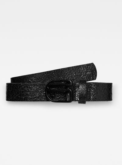 Caisa logo pin belt wmn