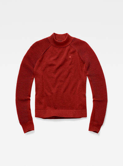 Suzaki Mock Turtle Knit