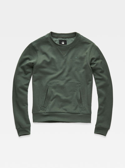 Cropped Hybrid Archive Sweater