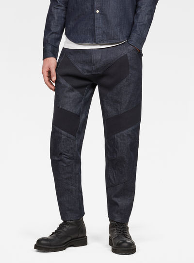 Raw Essentials Motac-X 3D Tapered Cropped Jeans