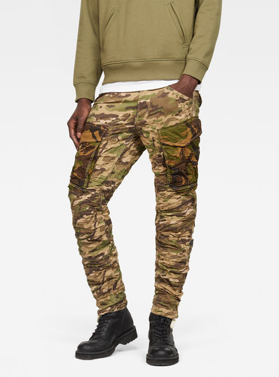 Rovic Mix 3D Tapered Pants
