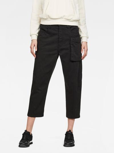 Tendric 3D Mid waist Boyfriend Pants