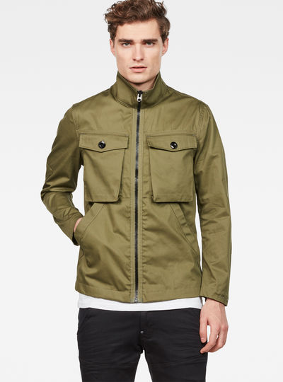Type C Zip Utility Overshirt