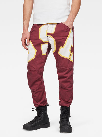 5622 3D Tapered Color Jeans