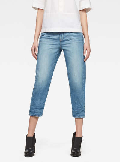 3301 High waist Boyfriend 7/8-Length Jeans