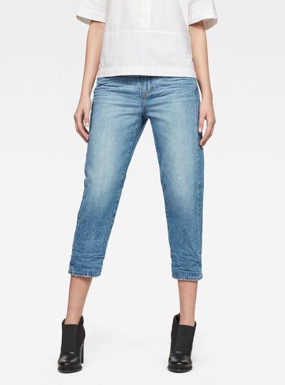 3301 High waist Boyfriend 7/8-Length Jeans