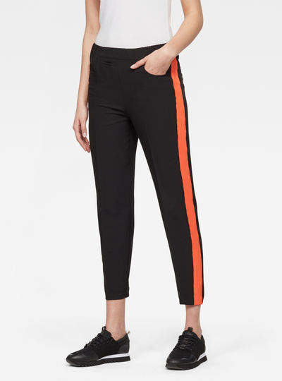 D-staq High-Waist Skinny Pull On Pants