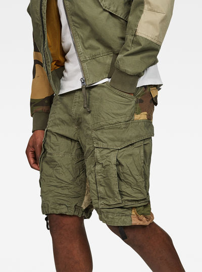 Rovic Tone-Mix Loose 1/2-Length Shorts
