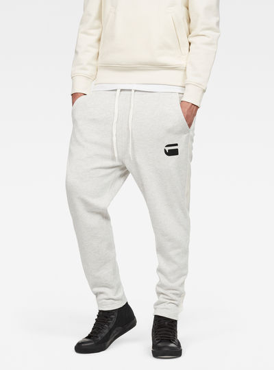 Core Stripe Cropped 3D Tapered Sweatpants