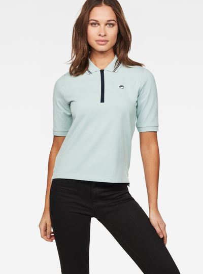 Raw Correct Slim 1/2-Sleeve Polo