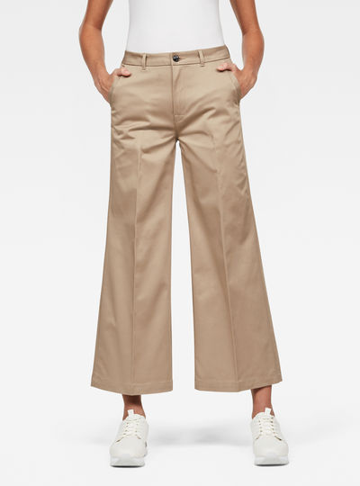 Bronson High Loose 7/8-Length Chino