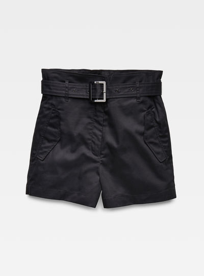 Rovic High waist Paperbag Shorts