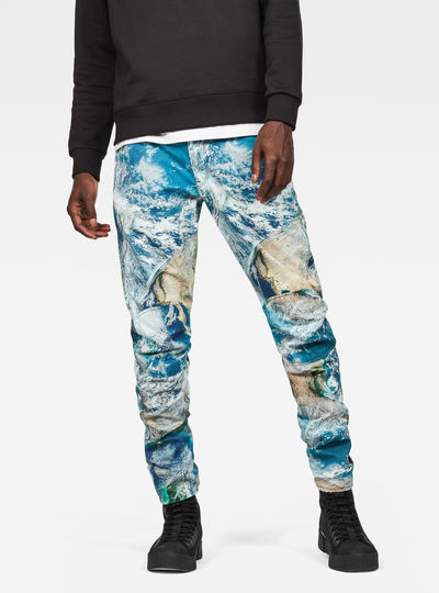 5622 G-Star Elwood 3D Tapered Color Jeans