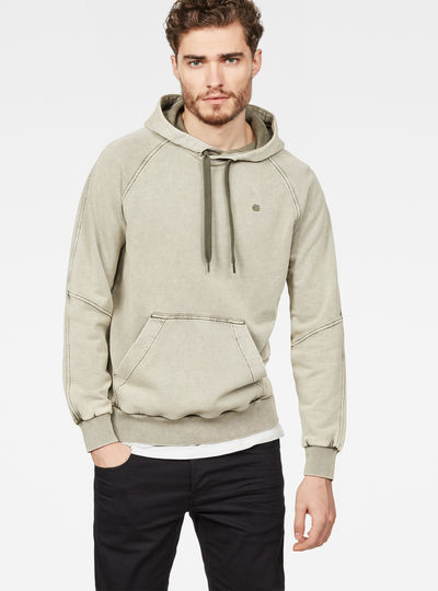 Lyl Strett Deconstructed Hooded Sweater