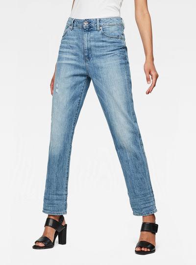 Midge High Waist Boyfriend Jeans