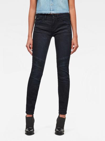 5622 D-Motion 3D Mid Skinny Jeans