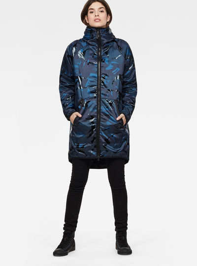 Strett Hooded Padded Parka + Gymbag
