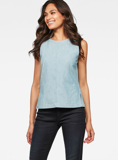 Deline Sleeveless Top