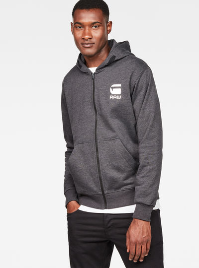 Doax Hooded Zip Thru Sweater