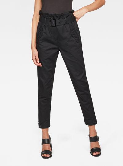 Rovic High waist Paperbag Pants