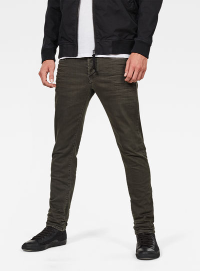 3301 Deconstructed Slim Colored Jeans