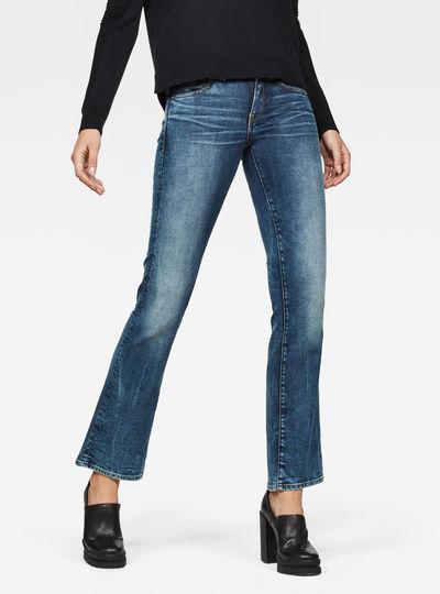 Midge Saddle Mid Skinny Bootcut Jeans