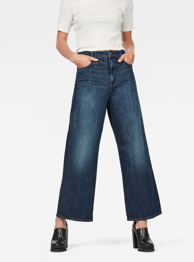 D-Staq 5-Pocket High Waist Jeans