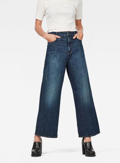 D-Staq 5-Pocket High Waist Jeans