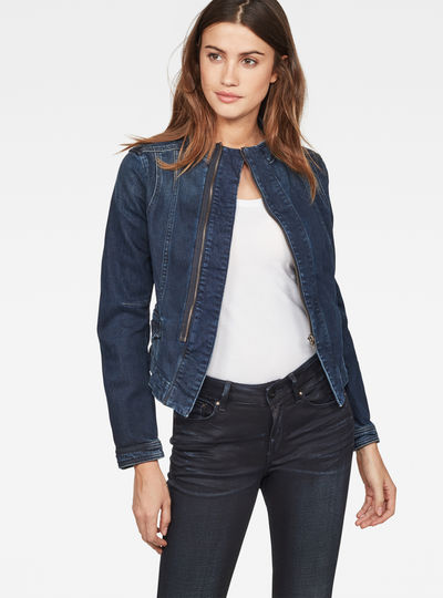 Noa Slim Denim Blazer