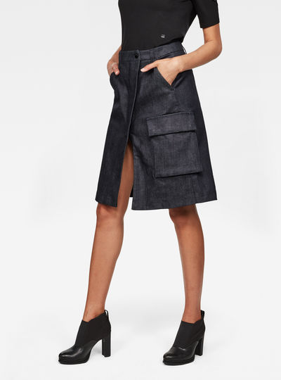 Vodan Wrap Skirt