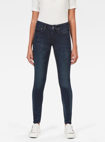 b8f2c27828fc Midge Zip Mid Skinny Jeans