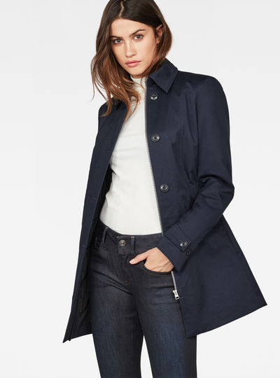 Minor Padded Slim Trench