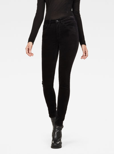 3301 High Waist Skinny Colored Jeans