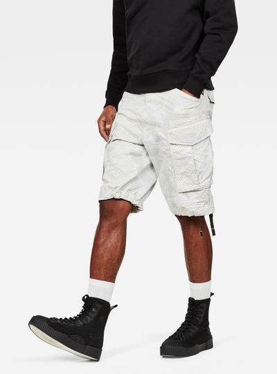Rovic Qane Relaxed 1/2 Length Shorts
