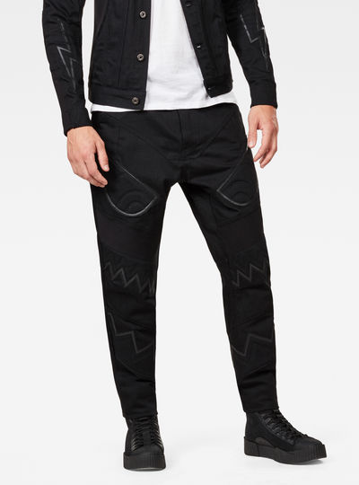 Motac-X Deconstructed Relaxed Moto Uni Jeans
