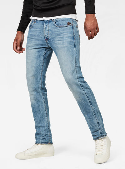 Attacc Deconstructed Straight Tapered Jeans