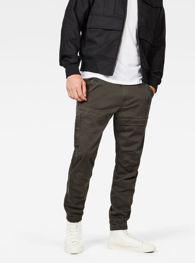 Rackam Straight Tapered Cuffed Pant