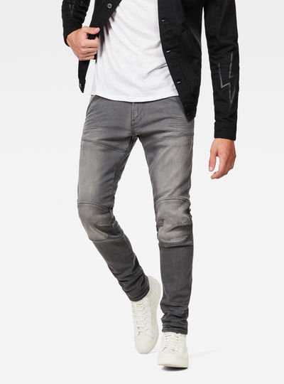 5620 3D Deconstructed Skinny Jeans