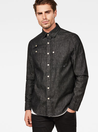 Utility Hybrid Archive Straight Shirt