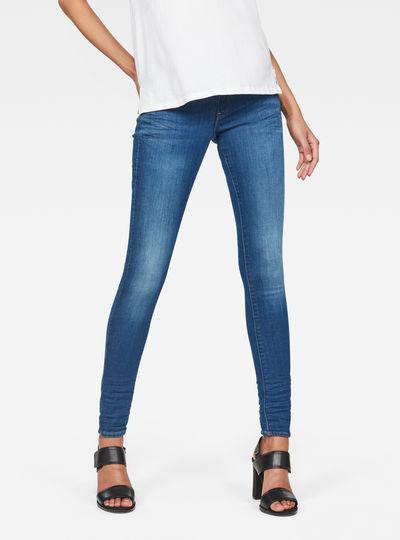 Lynn Mid-Waist Skinny Jeans
