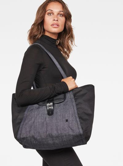 Mozoe Denim Tote Bag