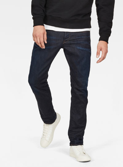 D-Staq 5-Pocket Straight Jeans