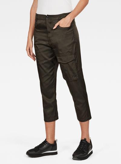 Boxxa 3D Mid waist Boyfriend Cargo Pants
