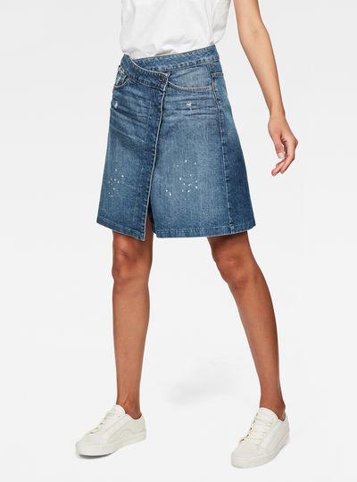 Arc Wrap Skirt