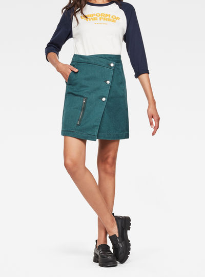 Powel Wrap Skirt