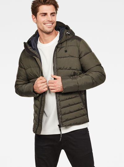 Motac Quilted Hooded Jacket