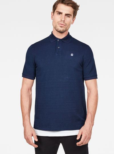 Core Indigo Polo