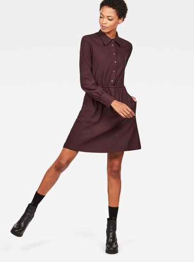 Tacoma Straight Flare Dress