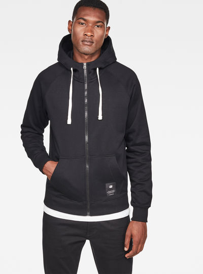 Manes Raglan Hooded Zip Sweat